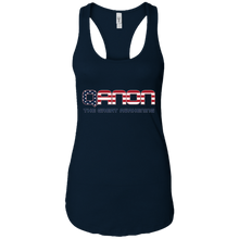 Load image into Gallery viewer, Black Qanon The Great Awakening Tank Top