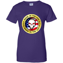 Load image into Gallery viewer, Purple Joe M Qanon Logo T-shirt