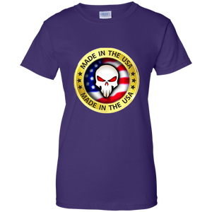Purple Joe M Qanon Logo T-shirt