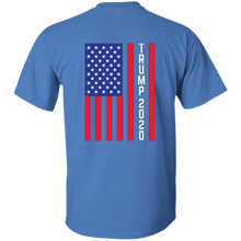 Load image into Gallery viewer, Blue Trump 2020 Flag Men's T-shirt