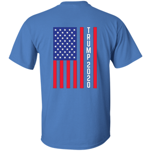 Blue Trump 2020 Flag Men's T-shirt