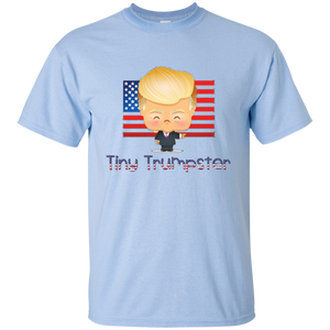 Light Blue Trump Tiny Trumpster Kids T-shirt