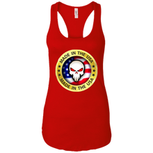 Load image into Gallery viewer, Red Joe M Qanon Logo Tank Top