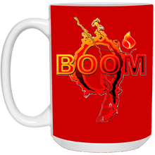 Load image into Gallery viewer, Red Qanon Q Boom Mug