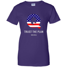 Load image into Gallery viewer, Qanon Q Trust The Plan Women's T-Shirt