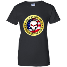 Load image into Gallery viewer, Black Joe M Qanon Logo T-shirt