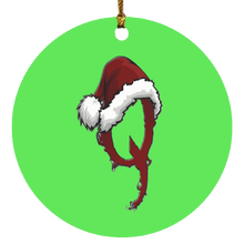 Load image into Gallery viewer, Santa Hat Ornament