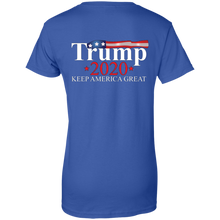 Load image into Gallery viewer, Royal Blue Trump 2020 Keep America Great T-shirt