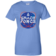 Load image into Gallery viewer, Light Blue Trump Space Force T-shirt