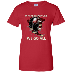 Red Q WWG1WGA Q/Qanon T-shirt
