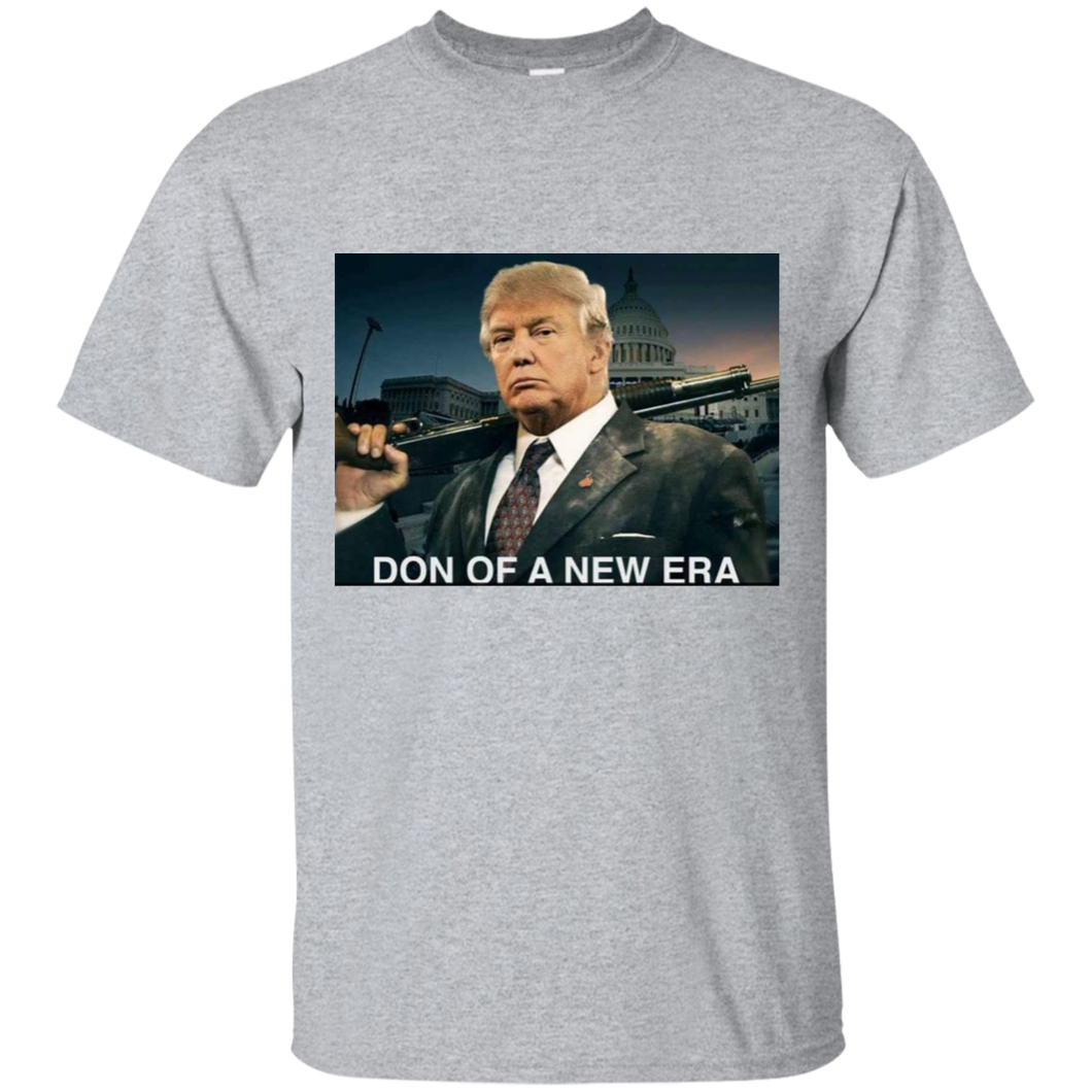 Grey Don Of A New Era Trump T-shirt