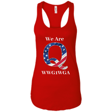 Load image into Gallery viewer, Red We Are Q WWG1WGA Tank Top