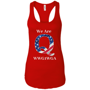 Red We Are Q WWG1WGA Tank Top
