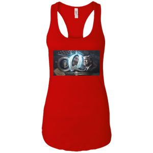 Red Trump Qanon Q/Qanon Tank Top