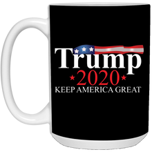 Load image into Gallery viewer, Black Trump 2020 Keep America Great Mug