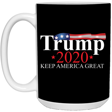 Black Trump 2020 Keep America Great Mug