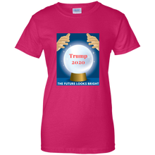 Load image into Gallery viewer, Pink Trump 2020 The Future Looks Bright T-shirt