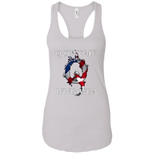 Load image into Gallery viewer, White Q Sent Me WWG1WGA Q/Qanon Tank Top