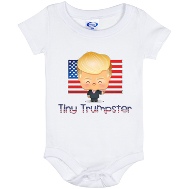 Trump Tiny Trumpster Onesie 6 Month