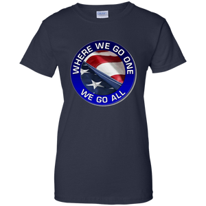 Qanon Where We Go One We Go All Women's T-Shirt