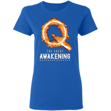 Load image into Gallery viewer, Qanon The Great Awakening Women's T-Shirt