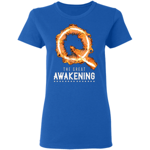 Qanon The Great Awakening Women's T-Shirt