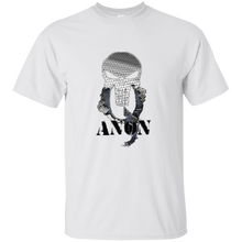 Load image into Gallery viewer, White Qanon Punisher Skull T-shirt