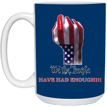 Load image into Gallery viewer, Royal Blue We The People Ceramic Mug