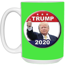 Load image into Gallery viewer, Green Trump 2020 Ceramic Mug