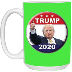 Green Trump 2020 Ceramic Mug