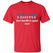 Load image into Gallery viewer, Red Trump Elect That MF'er Again 2020 T-shirt