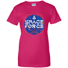 Load image into Gallery viewer, Pink Trump Space Force T-shirt