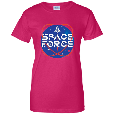 Pink Trump Space Force T-shirt