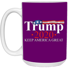 Load image into Gallery viewer, Purple Trump 2020 Keep America Great Mug