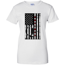 Load image into Gallery viewer, White Qanon WWG1WGA Flag Women's T-shirt