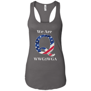 Charcoal Grey We Are Q WWG1WGA Tank Top