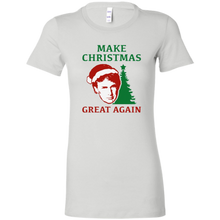 Load image into Gallery viewer, Make Christmas Great Again Trump Women's T-Shirt