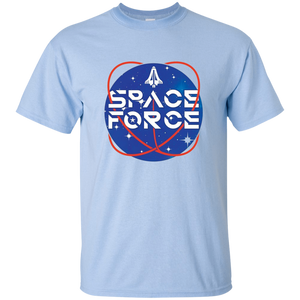 Light Blue Trump Space Force T-shirt