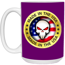Load image into Gallery viewer, Purple Joe M Logo Qanon Mug