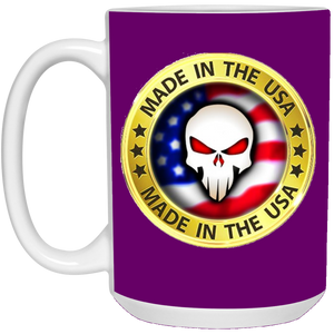 Purple Joe M Logo Qanon Mug