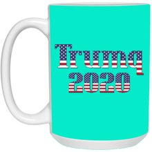 Load image into Gallery viewer, Turquoise Trumq 2020 Ceramic Mug