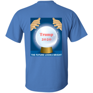 Blue Trump 2020 The Future Looks Bright T-shirt