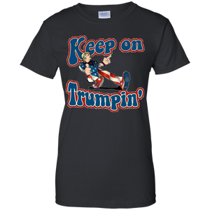 Black Keep On Trumpin T-shirt