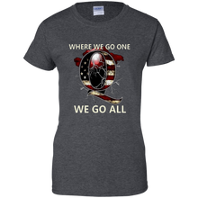 Load image into Gallery viewer, Charcoal Grey Q WWG1WGA Q/Qanon T-shirt