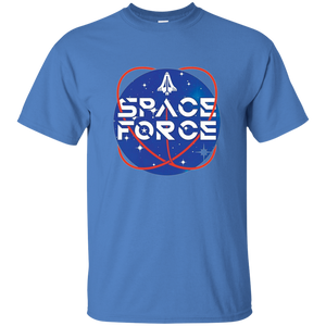 Blue Trump Space Force T-shirt