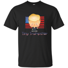 Load image into Gallery viewer, Black Trump Tiny Trumpster Kids T-shirt