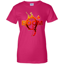 Load image into Gallery viewer, Pink Qanon Q Boom T-shirt