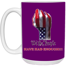 Load image into Gallery viewer, Purple We The People Ceramic Mug