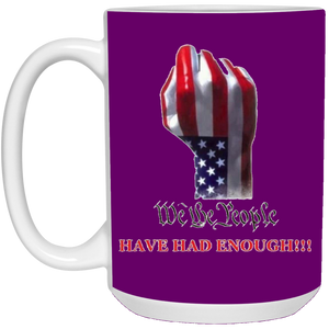 Purple We The People Ceramic Mug