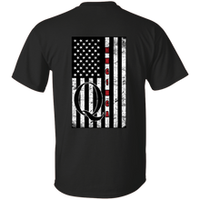 Load image into Gallery viewer, Black Qanon WWG1WGA Flag Men's T-shirt